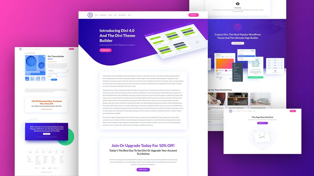 Divi - The Ultimate WordPress Theme & Visual Page Builder